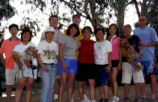 Fall 2003 Grace Gathering at Don Castro Park