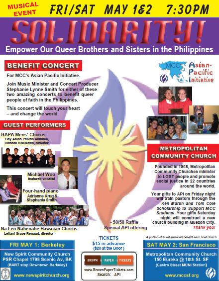 API Solidarity Concert